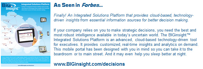 BIGinsight Decision Center