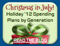 Generation Gap: Holiday 2012 Spending Preview